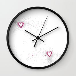 Digital Unfinished Love Intoxication Wall Clock