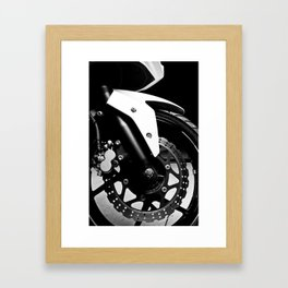 Kawasaki Ninja Motorcycle Wall Art III Framed Art Print