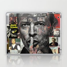 David Bowie Laptop & iPad Skin