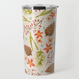 Quiet Walk In The Forest - A Soft And Lovely Pattern Travel Mug