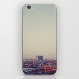 Morning Over Detroit iPhone Skin