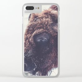 Into the eye Clear iPhone Case