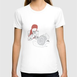 Run snail, RUN ! T-shirt