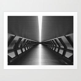 Space Tunnel Art Print