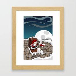 Bah Humbug! Framed Art Print