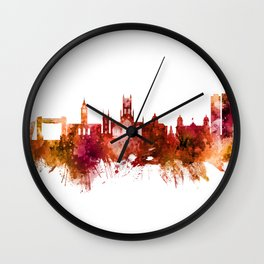 Kingston upon Hull England Skyline Wall Clock