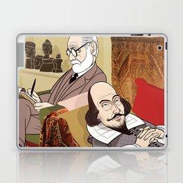Freud analysing Shakespeare Laptop & iPad Skin