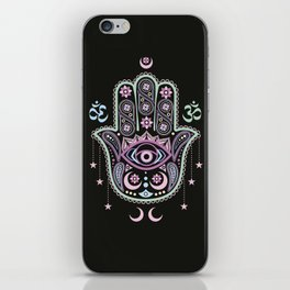 Hand of Fatima iPhone Skin