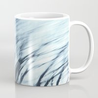 wind Mugs featuring Wind by Lena Weiss