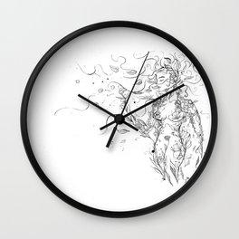 Leaf Lady (great quality) Wall Clock