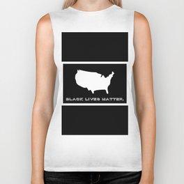 Black Lives Matter America Biker Tank