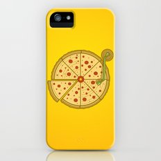 Pizza Vinyl iPhone (5, 5s) Slim Case