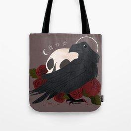 Familiar: Raven Tote Bag