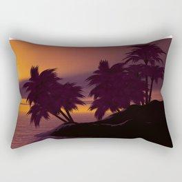 SUNSET ISLAND Rectangular Pillow