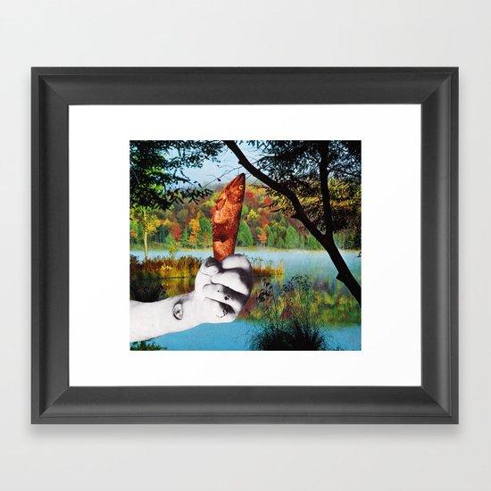 L'ultima volta che siamo andati a pesca insieme Framed Art Print