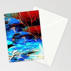 Night Park's sounds Stationery Cards