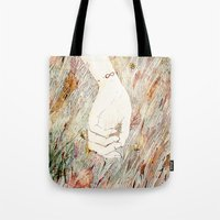 perfume Tote Bags featuring Perfume #2 by Dao Linh