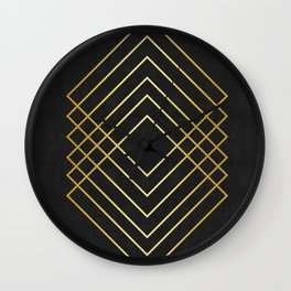 Fashion and golden art Wall Clock