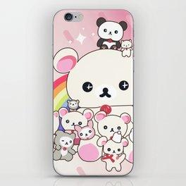 My kawaii family iPhone Skin
