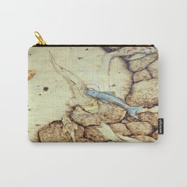 Ode to the Blue Koi Carry-All Pouch