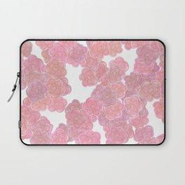 Blush Pink & Gold Florals Laptop Sleeve