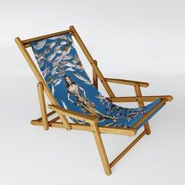 Mermaid in Monaco Sling Chair