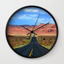 The road less traveled Wall Clock