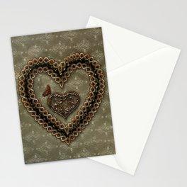 Wonderful celtic knot heart Stationery Cards