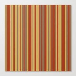 Fall Stripes Canvas Print