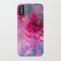 Spring floral paint 1 iPhone X Slim Case