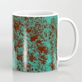 Minty Green Forest Coffee Mug