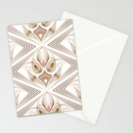 "Art Deco 39. "" Flo  "". Stationery Cards"