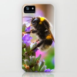 Humble Bumblebee iPhone Case