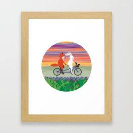 Hill Country Joyride Framed Art Print