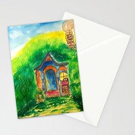 Grandma hobbit's home Stationery Cards