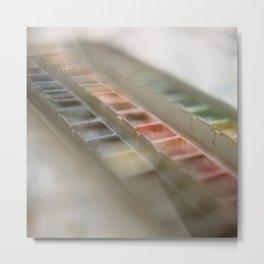 Water Color Paints Metal Print