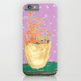 Plant Study I iPhone Case