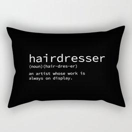 hairdresser Rectangular Pillow
