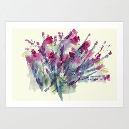 Flower Impression / Bursting Bouquet Art Print
