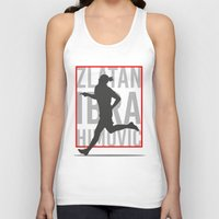 zlatan Tank Tops featuring Zlatan Ibrahimovic by Mountain Top Designs