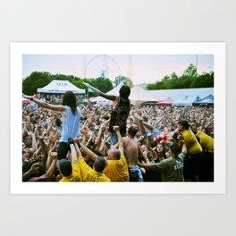 Sykes/Bring Me The Horizon Art Print