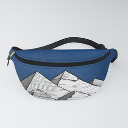 The pyramids of Giza Fanny Pack