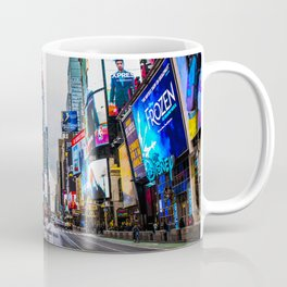 First light in Times Square Coffee Mug