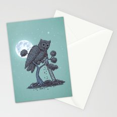The Night Gardener  Stationery Cards
