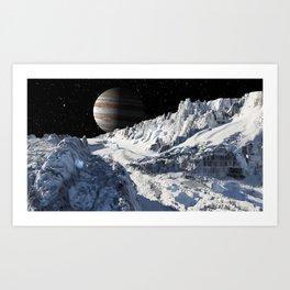 Exploring Europa Art Print