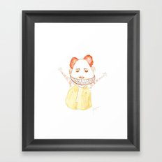 Freakin Mac Framed Art Print