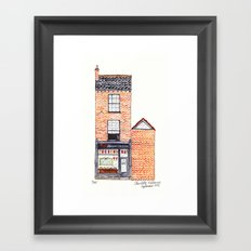 The Cats of York by Charlotte Vallance Framed Art Print
