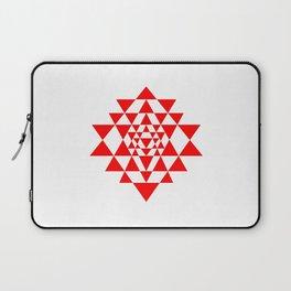 Sri yantra detail, sacred geometry Laptop Sleeve