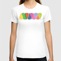 bonjour T-shirts featuring Bonjour by Mauricio Cosío