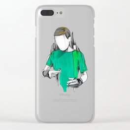 Alexis Clear iPhone Case